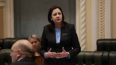 Queensland Premier Annastacia Palaszczuk accused the Prime Minister of bullying.