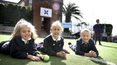 St Andrews Catholic Primary School, Malabar, has doubled its play breaks.