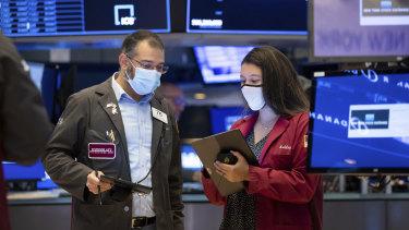 Wall Street fell sharply  on Friday.
