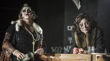 Amelia Cormack and Debora Krizak play the two deadly rivals in Razorhurst.