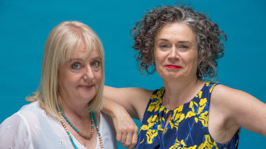 Denise Scott and Judith Lucy reflect on the difficulties faced by women in the stand-up world