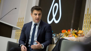 Airbnb chief Brian Chesky.