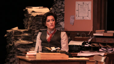 Celia Pacquola in the Black Swan State Theatre Company's production of The Torrents.