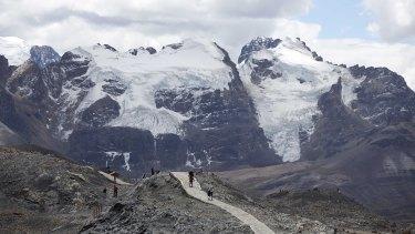 Rugged landscape: Peru.