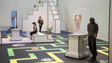 Artist Jess Johnson's NGA installation Terminus.