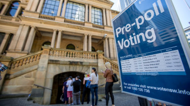 """There has been """"remarkable"""" growth in pre-poll voting, according to the AEC."""