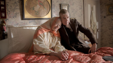 Vanessa Redgrave and Timothy Spall in Mrs Lowry & Son.