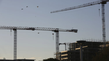 New-build properties carry more risks for buyers than established properties.