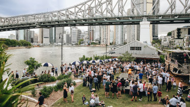 """Howard Smith Wharves will be the """"gateway to the bay"""" for Brisbane."""