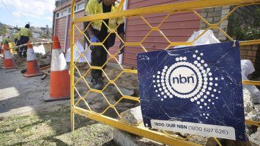 The NBN is producing far lower returns than hoped.