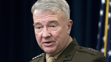 Expects more attacks: General Kenneth McKenzie.