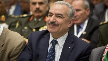New Palestinian Prime Minister Mohammad Shtayyeh.