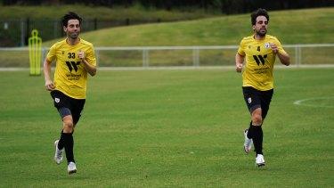 Former Athletic Bilbao teammates BeñatEtxebarria andMarkel Susaeta are back in the same colours again - at Macarthur FC.