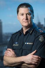 Victoria Police Commissioner Shane Patton.