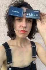 My Year in Mensa podcaster Jamie Loftus.