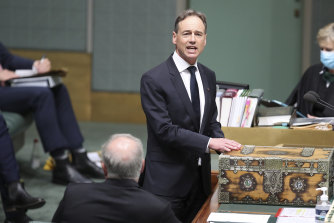 Health Minister and Flinders MP Greg Hunt returned fire on Mr Edbrooke.