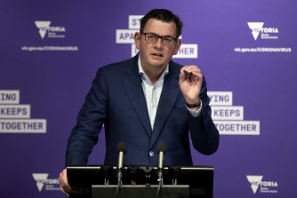 Victorian Premier Daniel Andrews said on Thursday that his relationship with the Prime Minister remained strong.