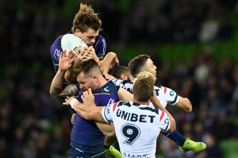 In-form Storm star Ryan Papenhuyzen will miss the highly-anticipated Anzac Day blockbuster with the New Zealand Warriors.