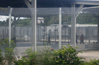 Australia's offshore detention centre on Manus Island in Papua New Guinea.