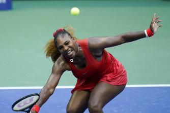 Serena Williams underwent hotel quarantine with an elite set in Adelaide, not Melbourne.