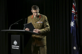 Chief of the Defence Force, General Angus Campbell.