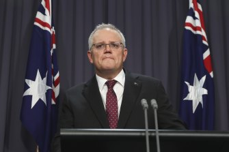 "An emotional Prime Minister Scott Morrison said women had put up with too much ""rubbish and crap"" for too long."