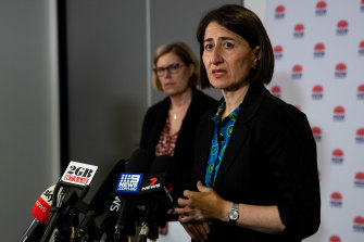 NSW Premier Gladys Berejiklian said the state had limited time to get on top of the outbreak in Sydney's north.