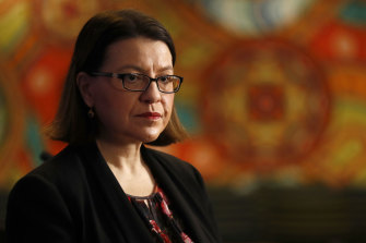 Health Minister Jenny Mikakos has urged people to heed the warnings and help drive down case numbers.