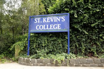 """The culture report commissioned by St Kevin's found there was """"still a lot of hurt"""" in the school community after boys were filmed singing a misgynistic chant and Four Corners revealed the former principal supported a man convicted of grooming a year 9 student."""