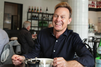Jason Donovan is back in Melbourne to star in <i>Chicago</i>.
