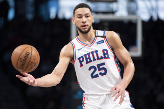 Ben Simmons could be among the Australian NBA players to go deep into the playoffs, causing a potential clash with the Olympics.