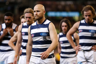 It's unclear whether Gary Ablett will continue.