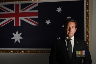 RSL NSW president James Brown has been working to reform the previously scandal-plagued veterans' group.