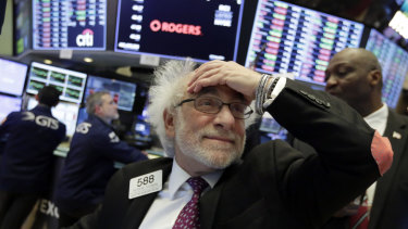 Wall Street has sunk the past two sessions.