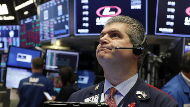 The S&P 500 has slumped by more than 7 per cent in October.