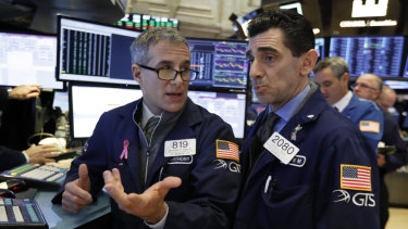 Wall Street gained for the third day in a row.