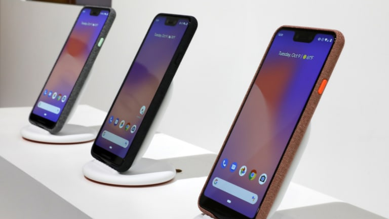 The Pixel Stand turns the phone into a kind of Google Home that also shows you photos.