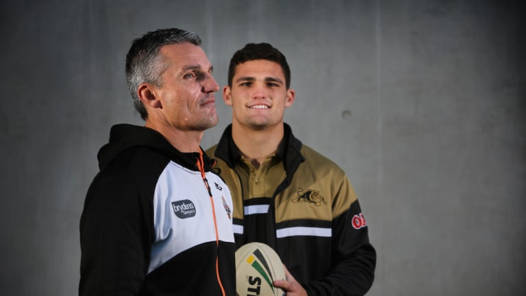 Family reunion: Ivan Cleary has been officially appointed as Panthers coach for 2019, joining son Nathan at the club.