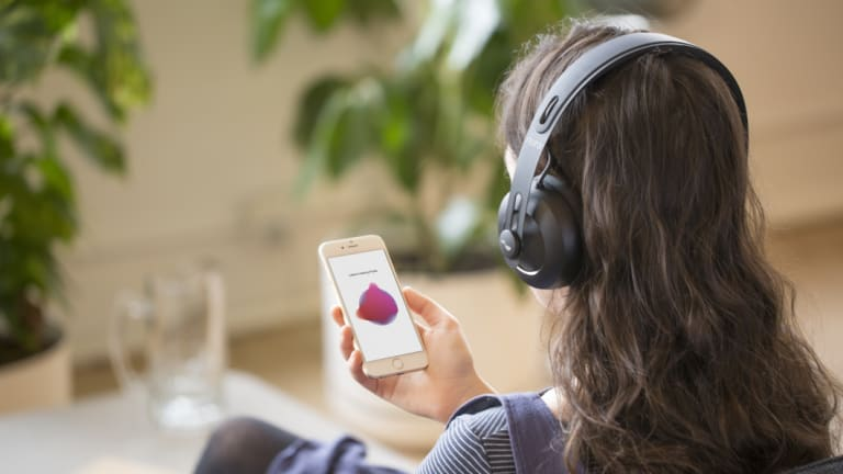 Nuraphones measure and store a map of how your ear reacts to sound.