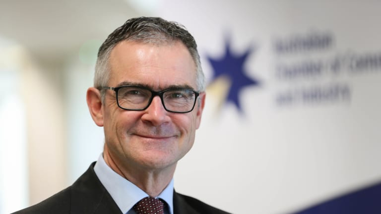 Australian Chamber of Commerce and Industry chief executive James Pearson.