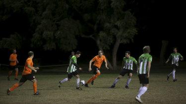 Armando Gardiman, the chairman of the Canterbury District Soccer Football Association, said clubs such as Balmain should not be punished for the misbehaviour of other players.