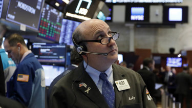 Wall Street recovered some of its losses from Monday's horror session.