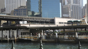 The proposed upgrade means buildings could go as high as the Cahill Expressway.