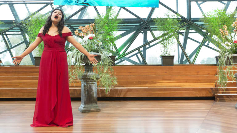 Perth soprano Fleuranne Brockway has won a grant that opens up opportunities in Germany.