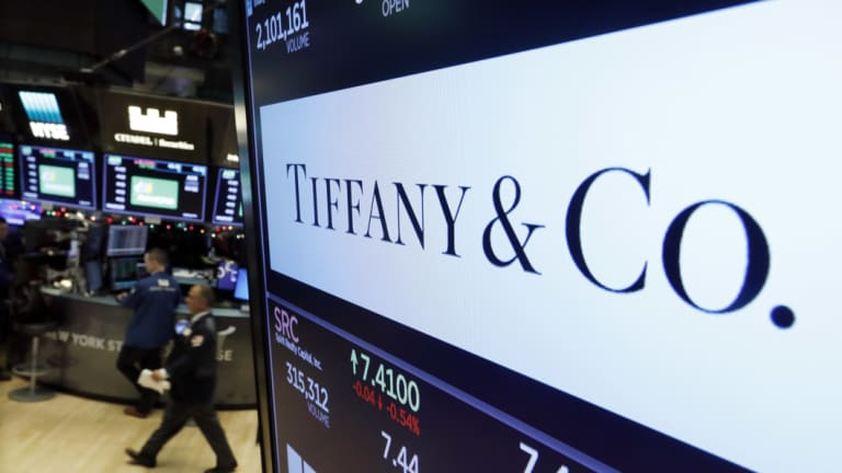 Tiffany & Co. shares slumped the most in four years.