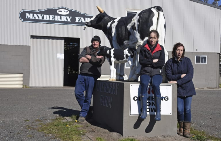 Craig Whatman, Jade Whatman and Tammy Whatman are crowdfunding for their farm.