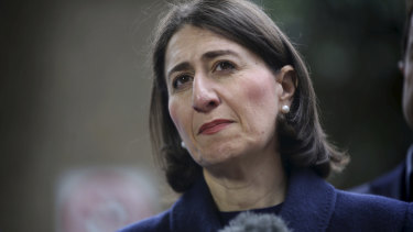 Polling shows Gladys Berejiklian could lose the state election if it were held this weekend.