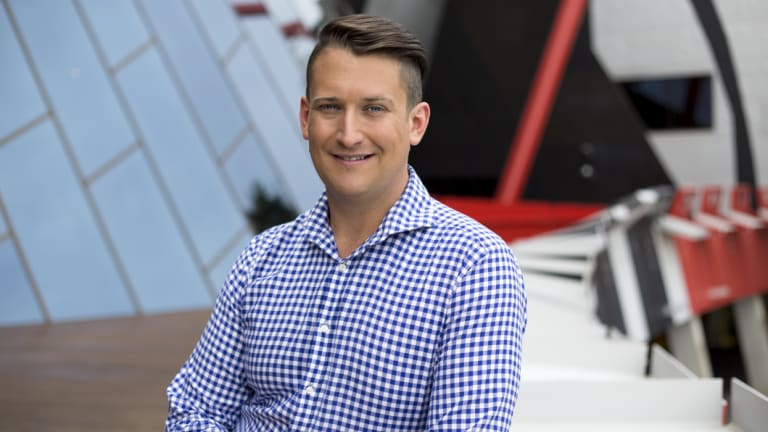 ABC Radio Canberra Breakfast presenter Dan Bourchier, whose program remains the most popular breakfast radio show in the capital despite dropping 0.3 share points.