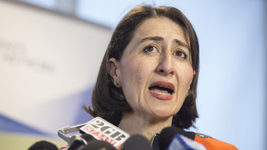 """NSW Premier Gladys Berejiklian said she had """"full confidence"""" in the authority to continue to negotiate on behalf of the NSW government and to """"protect the public interest""""."""
