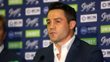 Cronk announcing his retirement on Monday.